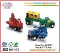 Crianças de madeira pequeno carro de brinquedo, brinquedos do carro crianças