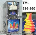Venta caliente de la máquina 3 sabores de helado / máquina de helado suave