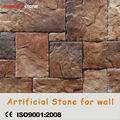 مجال الحجر طبيعة السطح الداخل خارج الباب خفيفة الوزن فو حجر الجدار ديكور