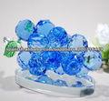 Fruta cristalina besutiful , brillante de uva de cristal