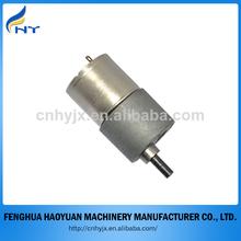 25mm 12v motor eléctrico de juguete de metal caja de engranajes de motor de corriente continua