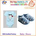 venta al por mayor de color azul oscuro bebé sandalia
