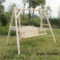 sólido de madera al aire libre columpios para los adultos