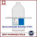 Uso externo con desinfectante 15% glutaraldehído avesdecorral el uso de la agricultura