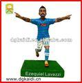 italia famoso jugador de fútbol para la figura de colección