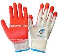FQGLOVE 10g recubierto en la palma barato guantes de látex