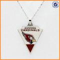 Arizona Cardinals enameld vermelho colar de pingente de campeonato