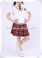 2014 de alta calidad de la escuela de verano uniformes para los niños