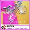 papillon en cristal rond de serviette pour la décoration de table