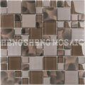 Brown Cold techo decoración de la pared de baldosas de vidrio aerosol