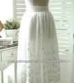 2014 nueva moda de encaje de largo maxi faldas para las señoras