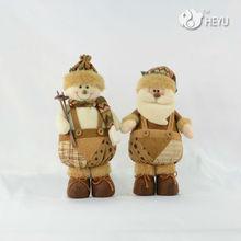 la decoración de navidad de santa claus