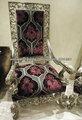 barroca esculpida poltrona - mobiliário clássico italiano