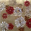 pinturas al óleo de flores