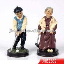Resina& abuelo abuela figuras