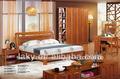 style européen sculpture antique en bois massif chambre à coucher