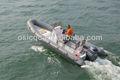 2014 nuevo modelo de barco de la costilla 650d barco inflable rígido