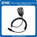 El más reciente hm-169 impermeable de mano los altavoces micrófono ptt para ic-f50 radios