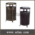 2013 Nuevo diseño de metal decorativos contenedor de basura hotel (Arlau BS93)