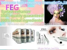 de fibra única de pestañas cosméticos esencia/suero de pestañas/máscara pestañas en todo el mundo para los exportadores
