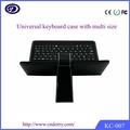 teclado comprimido, tableta androide teclado externo, barata de la tableta teclado de la PC
