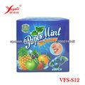 oral de productos de confitería dulce de caramelo de menta fresca tiras