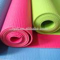 los deportes y pilato pvc estera de yoga en un solo color