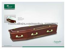 Australie Style de cercueil en bois