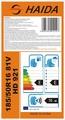Neumáticos para automóviles 215/35ZR18 de precios baratos para REACH de EU Etiqueta certificada hechos en China