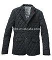 revestimento acolchoado e blazers para homens jaqueta casual