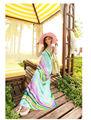 largo del tobillo de verano casual de vestir con la flor
