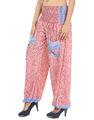 Pantalones y pantalones de diseños para las mujeres, hecho a mano pantalones harén