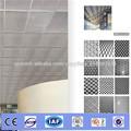 Hojas de aluminio sistema abierto techo decorativo tejido de asar a la parrilla