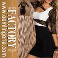 Vestido de luxo com 3/4 manga rendas Bodycoat