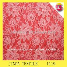 de nylon brillante de punto por urdimbre de la tela