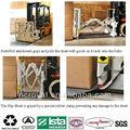 reciclable palets de plástico de plástico hoja de deslizamiento para contenedores para el transporte del envío
