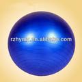 colorido del pvc pilates yoga pelota
