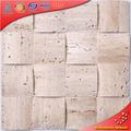 SD30 30x30cm color Beige 3d decoración mármol piedra azulejos de mosaico