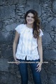 caliente la venta de algodón blusa 2014
