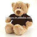 Xcl2267 t- shirt oso pardo, oso lindo con t- shirt