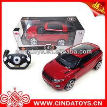 1:14 modelo de simulación de la luz con el canal 4 r/c del coche juguetes