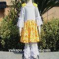 Roupa indiana, baby trajes, menina de duas peças de roupas