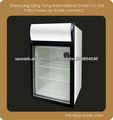 Mini pantalla nevera / mostrador frigorífico superior para bar