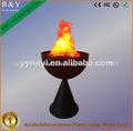 fuego llama lámparas