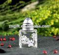 decorativa de vidro frasco de perfume com tampa