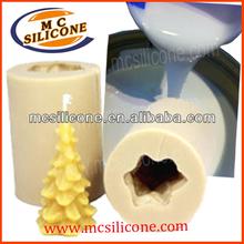 goma de silicona líquida de vela para la fabricación del molde