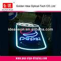 Bud light signo de neón fabricados en china, letrero de neón pepsi