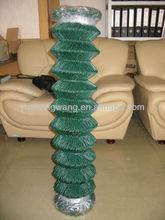 /de pvc recubierto de plástico de la cadena cerca del acoplamiento