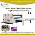 La máquina de impresión para el cartón mjbl- 7