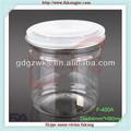 400ml transparente pet recipiente de plástico para dulces